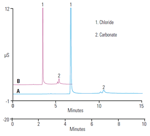 ab140 fast determination inorganic counterions a pharmaceutical drug using highpressure capillary ion chromatography
