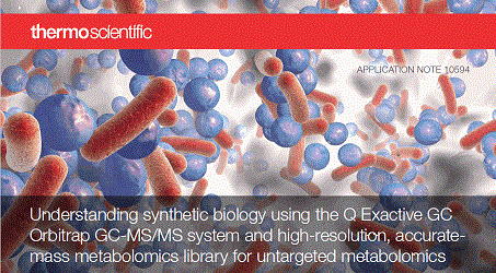 untargeted metabolomics synthetic biology