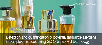 quantification allergens with orbitrap gcms